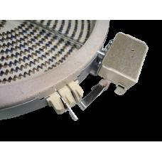 340-5221 Электроконфорка для стеклокерамики D=180/200мм 1700 Вт Indesit, 480121101516