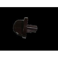 346-0010 Ручка переключателя плиты Gefest коричневая, 1200.10.0.000-05