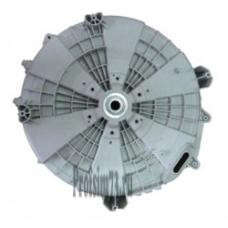 219-0050 Задняя стенка бака LG (3044ER0007C) AJQ69410401 в сборе + сальник+ подшипники (крепления под прямой привод и под навесной мотор)