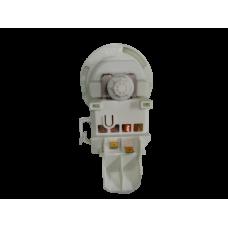 208-7020 Насос сливной ПММ Copreci Bosch (3 защёлки, клеммы назад,с отводом),  00165261